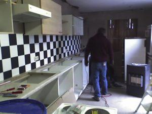 Küchenoberschränke