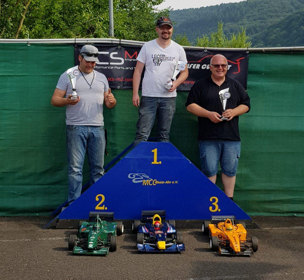 Podium Formel 1
