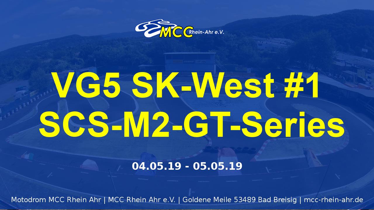 Plakat SK Lauf West SCS-M2-GT-Series